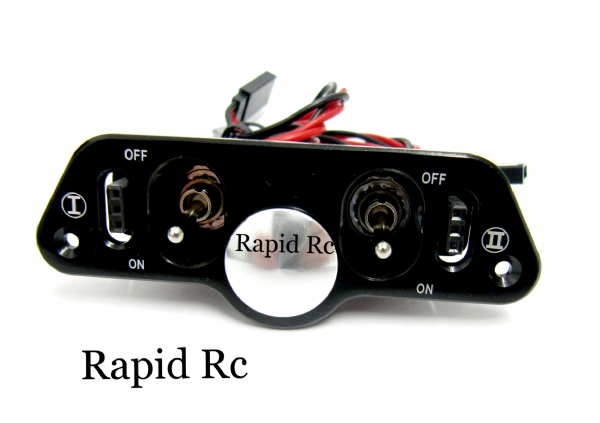 Dual RX/CDI Power Switch with Fuel Filler-charge ports